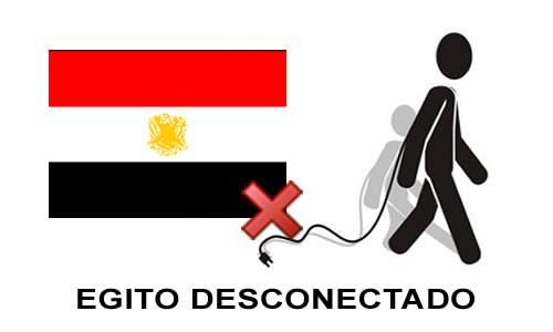 Egito sem internet