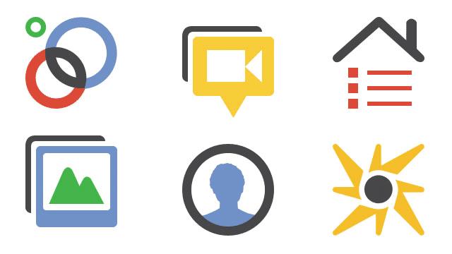 icones do google plus