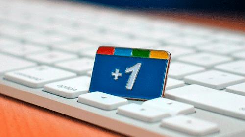 google-plus no teclado